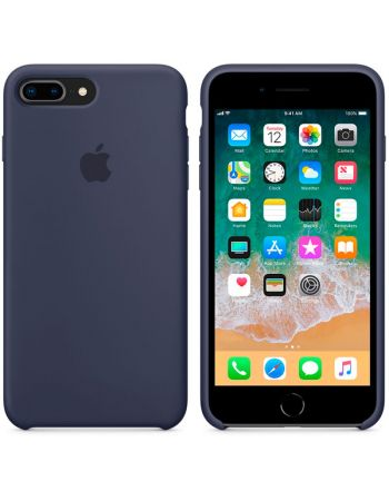 Чехол для iPhone Apple iPhone 8 Plus / 7 Plus Silicone Midnight Blue